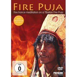 FIRE PUJA in TIBET- Meditatives wellness and fireplace movie
