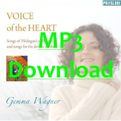 WAGNER GEMMA - Voice of the heart - MP3