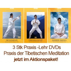 3 DVD Set - Praxis der Tibetischen Meditation – Dechen Shak-Dagsay