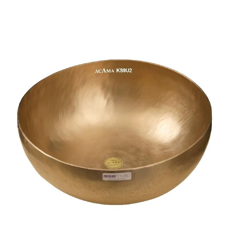 KS9U2 SOLARPLEXUS - ACAMA Becken-Klangschale, groß, ca.1,90 - 2,0 kg, Dm ca. 30cm
