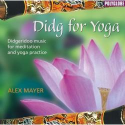 MAYER ALEX - Didg for Yoga - CD