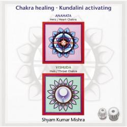 MISHRA SHYAM KUMAR - Chakra Healing, Kundalini activating CD 3 Hals- & Herz Chakra