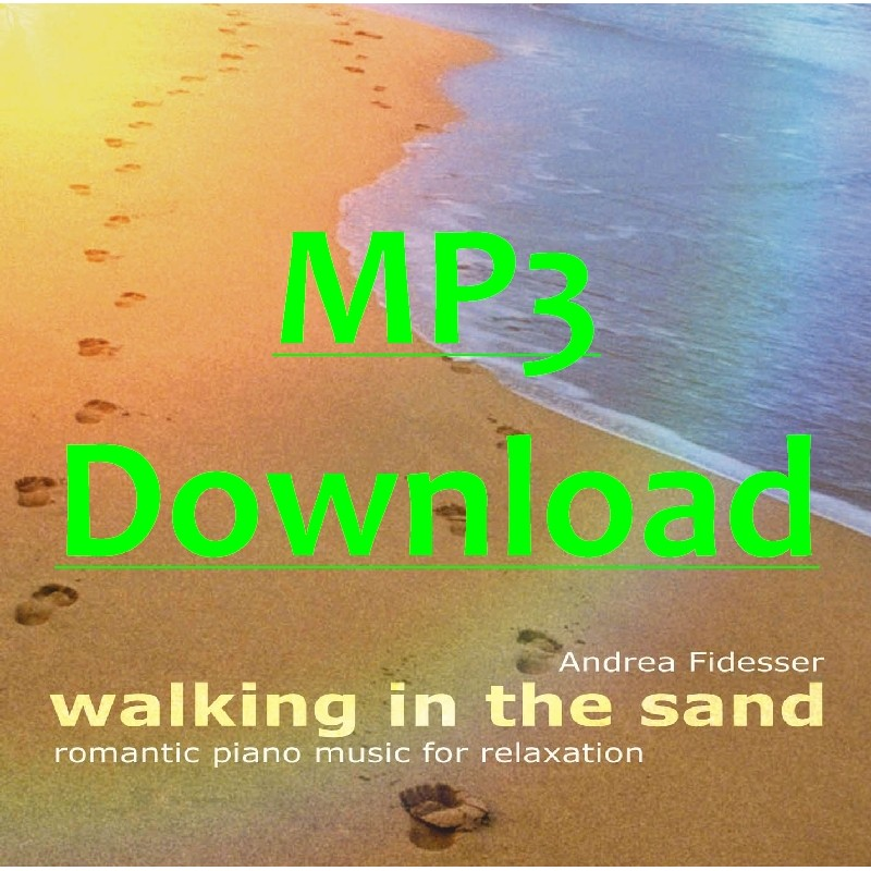 FIDESSER ANDREA - Walking in the Sand - MP3
