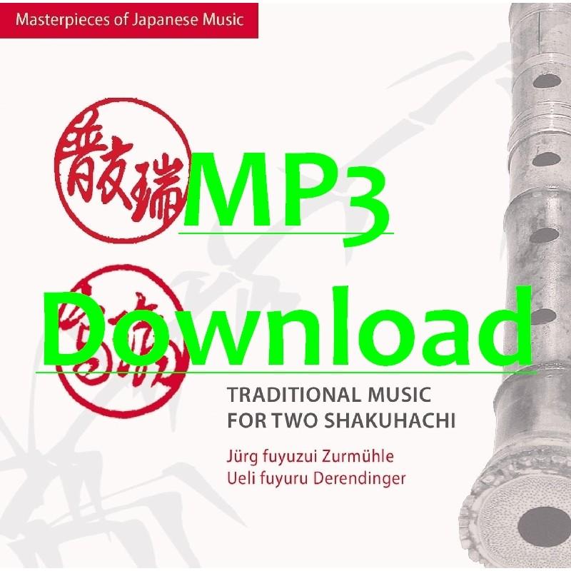 ZURMUEHLE JUERG & DERENDINGER UELI - Trad. Music for two Shakuhachi - MP3