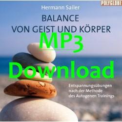 SAILER HERMANN - Balance von Geist und Koerper - MP3