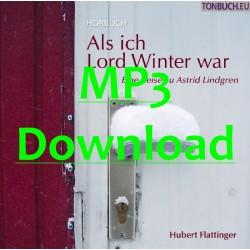 FLATTINGER HUBERT - Als ich Lord Winter war - MP3