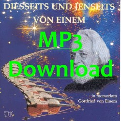 INGRISCH LOTTE & JUNGE OESTERR. PHILHARMONIE  -  Diesseits und Jenseits von Einem - MP3