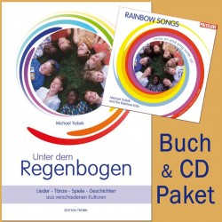 "TRYBEK MICHAEL - Rainbow Songs Package - CD Rainbow Songs & Buch ""Unter dem Regenbogen"""