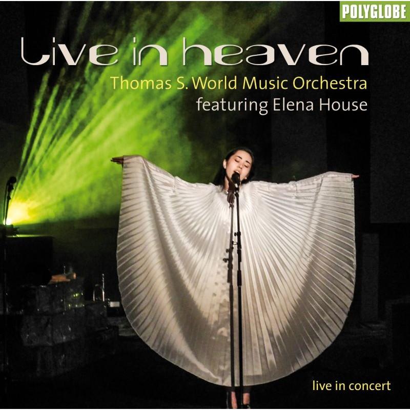 THOMAS S. WMO feat. ELENA HOUSE - LIVE IN HEAVEN - CD