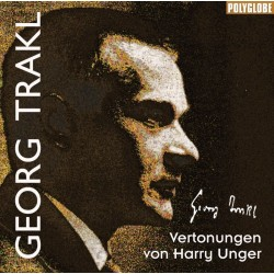 UNGER HARRY/TRAKL GEORG - vertonte Gedichte - CD