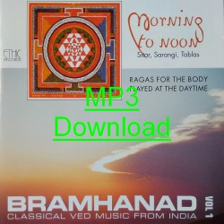 BRAMHANAD Vol 1- MORNING TO NOON - mp3