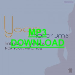 YOGA, Vol.10 - Hot Drums - MP3