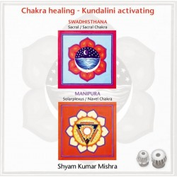 MISHRA SHYAM KUMAR - Chakra Healing, Kundalini activating CD 2 Sacral- & Solarplexus Chakra