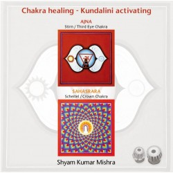 MISHRA SHYAM KUMAR - Chakra Healing, Kundalini activating CD 4 Scheitel- & Stirn Chakra